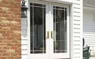 Small Exterior French Doors  20 Arrangement