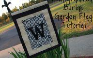 Small Garden Flags  29 Design Ideas