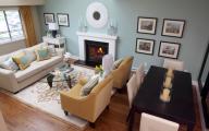 Small Livingroom Diningroom  4 Decor Ideas
