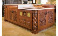 Kitchen Wood Curving 27 Design Ideas