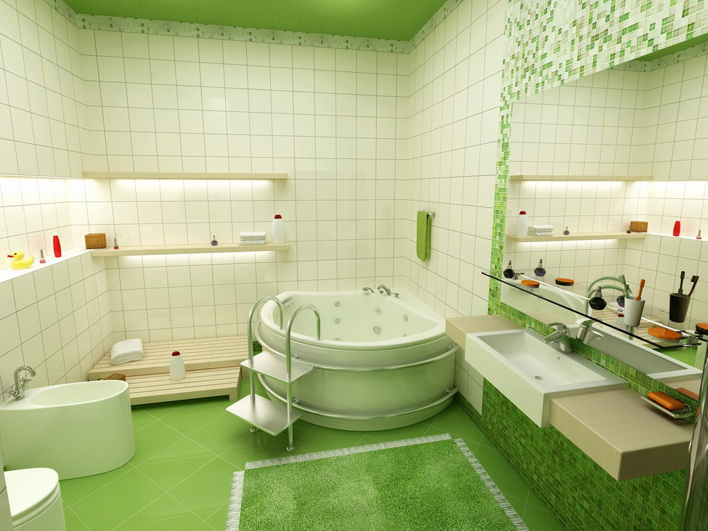 Bathroom Wallpaper Decorating Ideas 15 Designs - EnhancedHomes.org