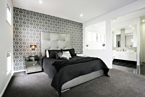 Exceptionnel Bedroom Wallpaper Accent Wall 1 Designs