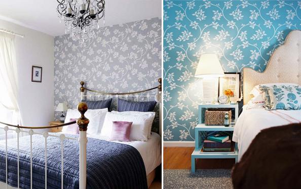 Bedroom Wallpaper Accent Wall 27 Renovation Ideas