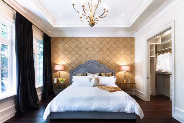 Bedroom Wallpaper And Matching Bedding 8 Decoration Inspiration