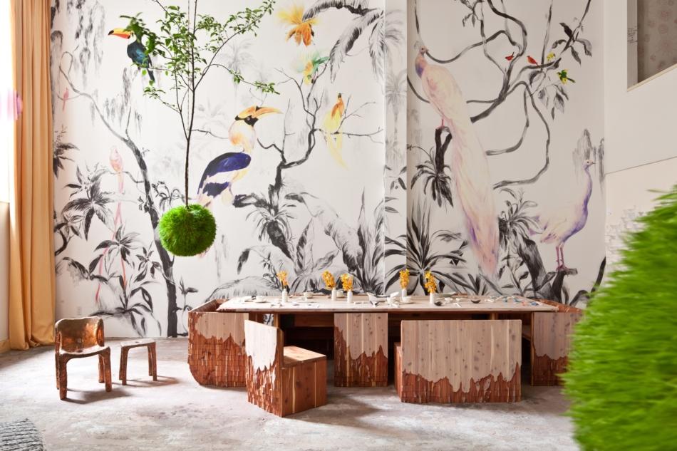 25 Best Ideas About Bird Wallpaper On Pinterest Powder Rooms
