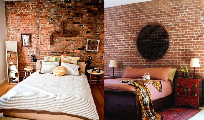 Bedroom Wallpaper Brick Decorating Ideas Part 22