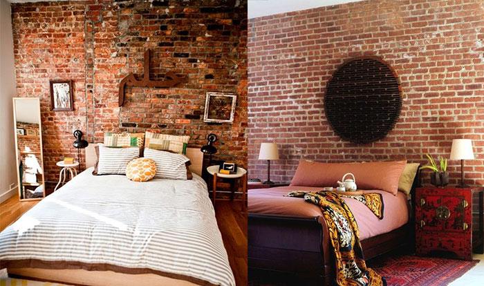 Bedroom wallpaper brick 15 picture - Brick wallpaper bedroom design ...