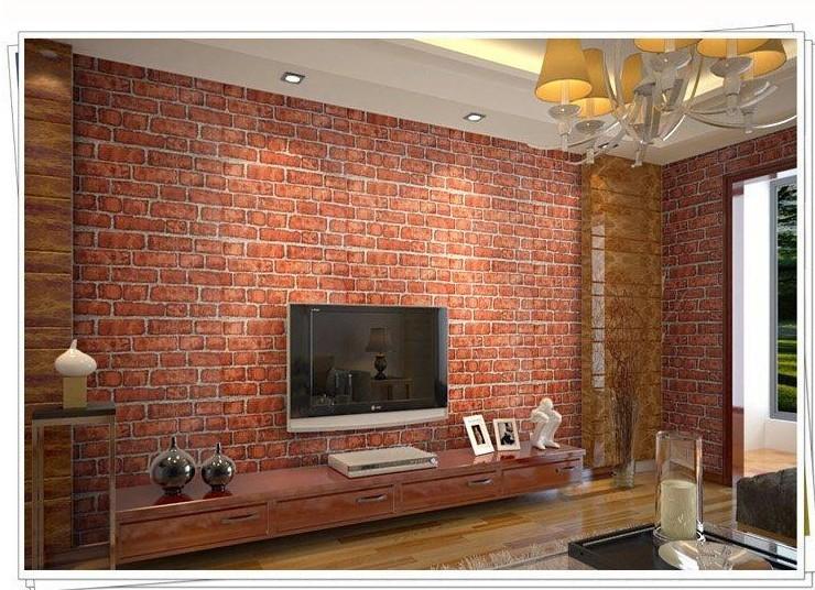 Bedroom wallpaper brick 37 design ideas enhancedhomes org