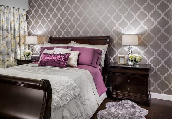 Bedroom Wallpaper Decor 17 Design Ideas - EnhancedHomes.org