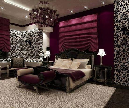 Bedroom Wallpaper Feature Wall 19 Decoration Idea ...