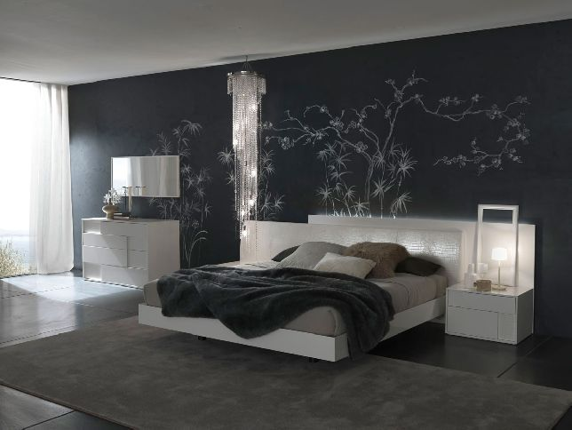 Bedroom wallpaper patterns 20 design ideas for Bed wallpaper design