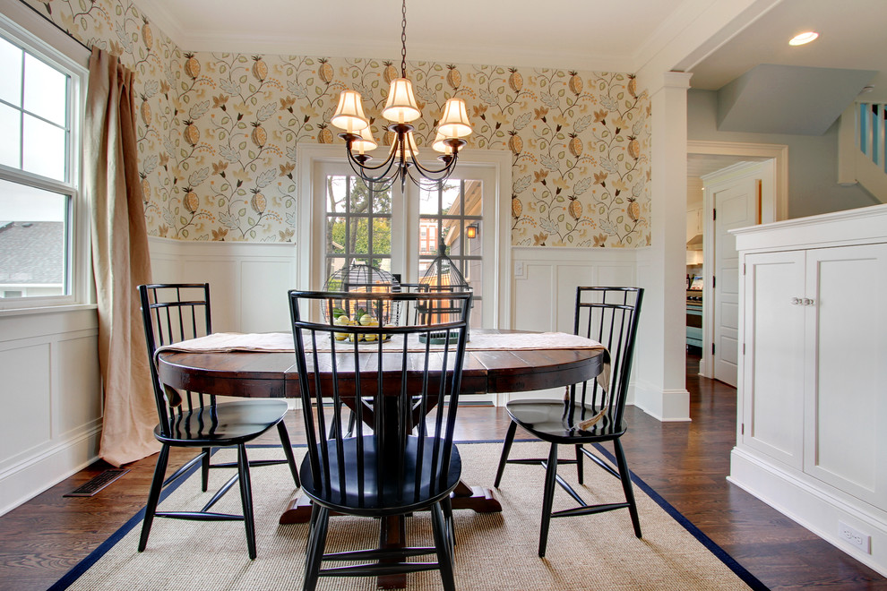 Best dining room wallpaper 22 renovation ideas for Dining room wallpaper