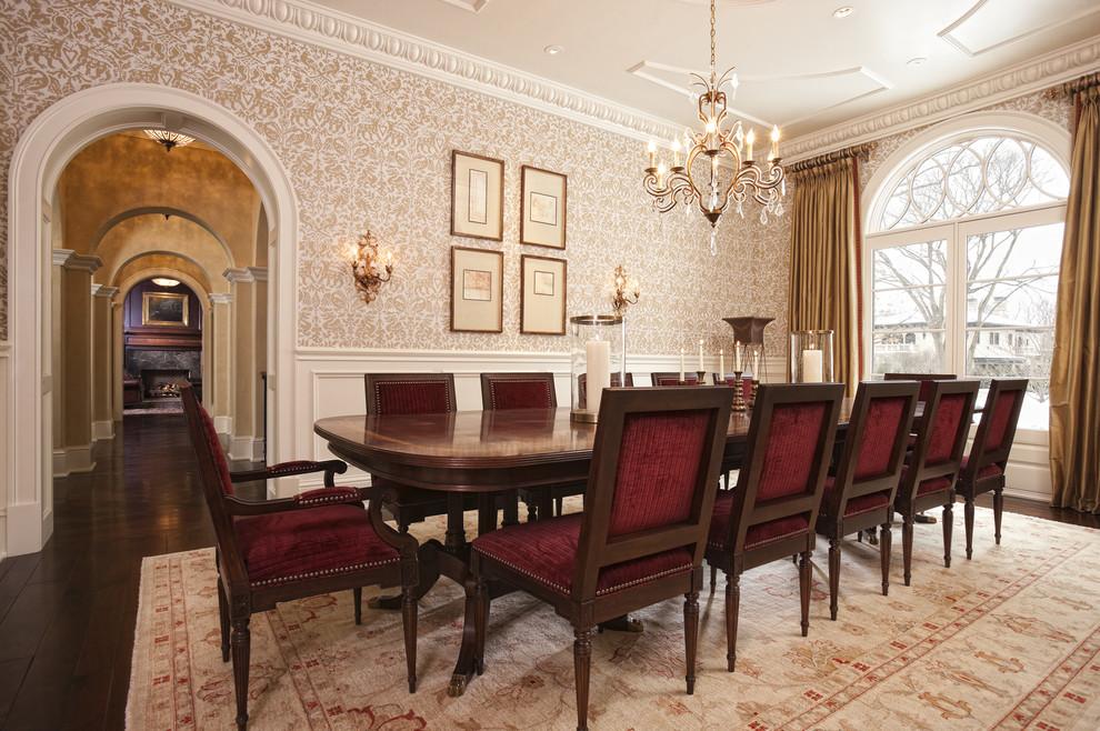 classic dining room wallpaper 24 inspiring design - enhancedhomes