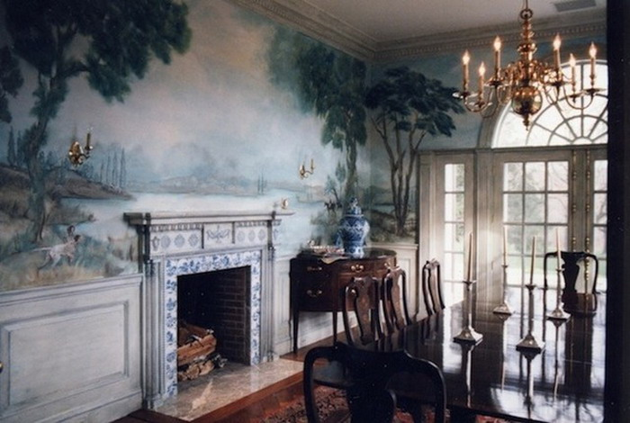 how to choose wallpaper for dining room