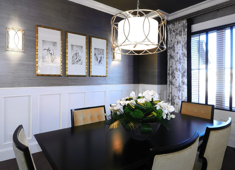 Classic Dining Room Wallpaper 7 Decoration Inspiration ...