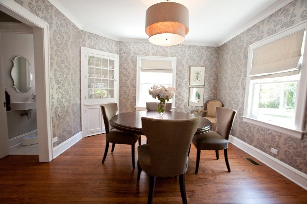 Classic Dining Room Wallpaper 8 Inspiration - EnhancedHomes.org