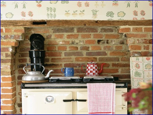 Country kitchen wallpaper for Country kitchen wallpaper ideas