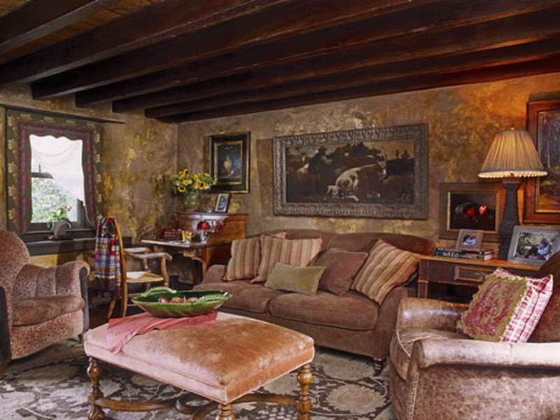 Country Living Room Wallpaper 16 Inspiring Design ...