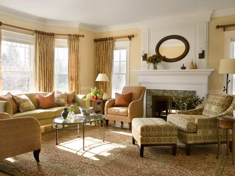 Country Living Room Wallpaper 31 Inspiration