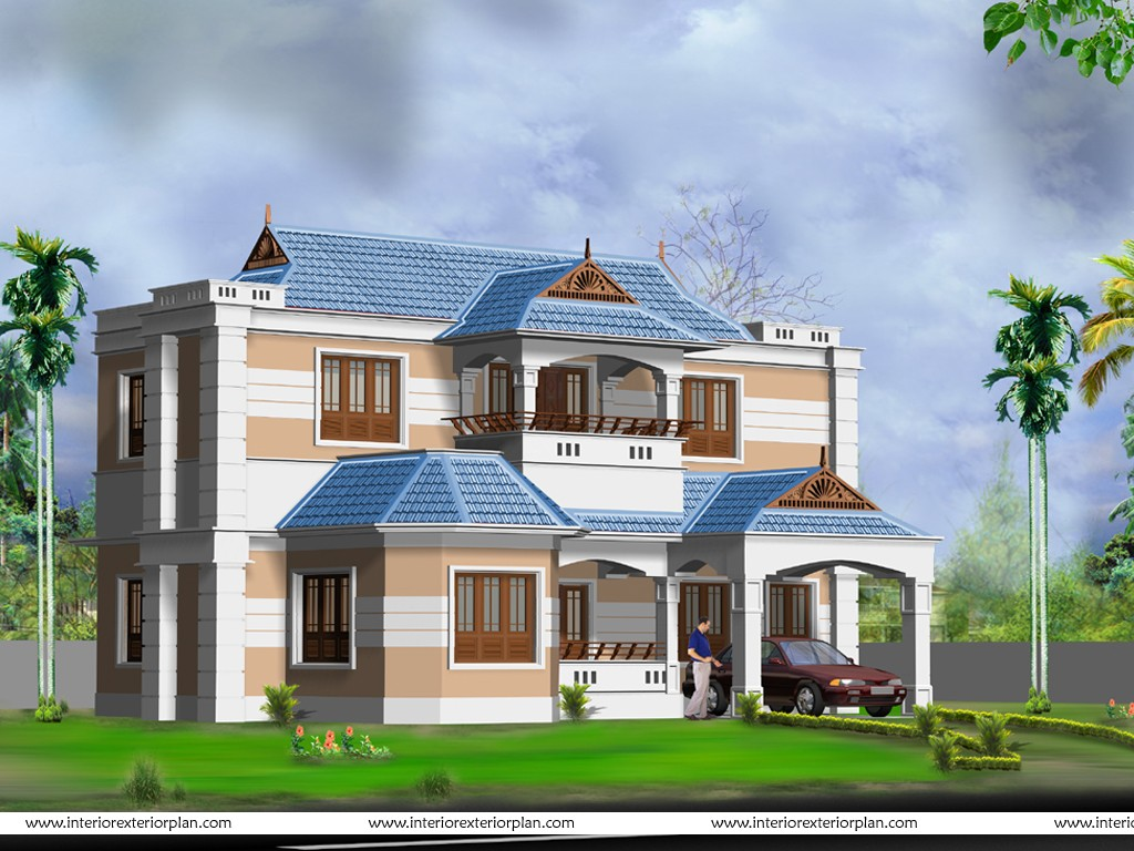 Design exterior of house free 6 arrangement for Free exterior design
