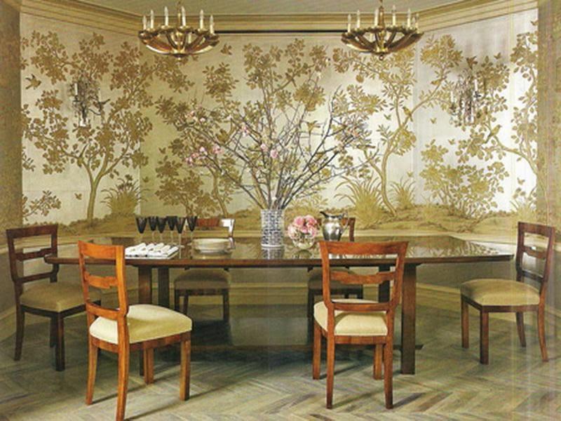 Dining Room Wallpaper Designs 10 Inspiring Design   EnhancedHomes.org