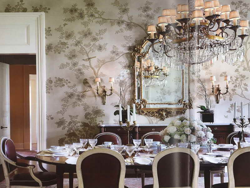 dining room wallpaper designs 4 inspiration - enhancedhomes
