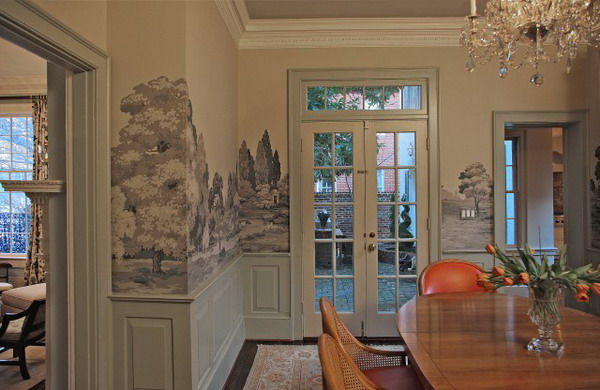 Dining room wallpaper ideas 16 home ideas for Dining room wallpaper ideas