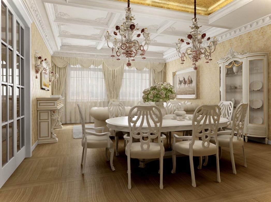 Dining room wallpaper ideas 18 designs for Wallpaper dining room ideas