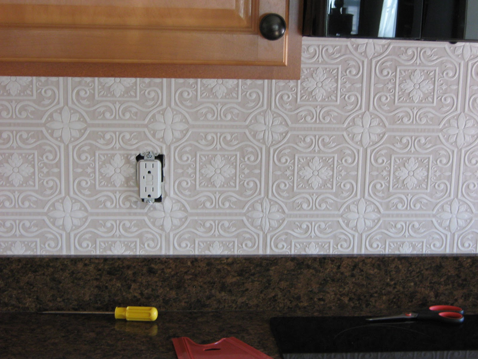 Kitchen Wallpaper Backsplash 8 Decoration Idea - EnhancedHomes.org on kitchen counter ideas, kitchen murals ideas, kitchen photography ideas, kitchen electrical ideas, country kitchen ideas, kitchen bathroom ideas, small kitchen remodeling ideas, kitchen background ideas, kitchen newspaper ideas, kitchen cutouts ideas, kitchen banquette seating ideas, kitchen tools ideas, simple rustic kitchen ideas, kitchen rugs ideas, kitchen embroidery ideas, kitchen design, contemporary kitchen ideas, kitchen wood ideas, kitchen signs ideas, pinterest kitchen ideas,