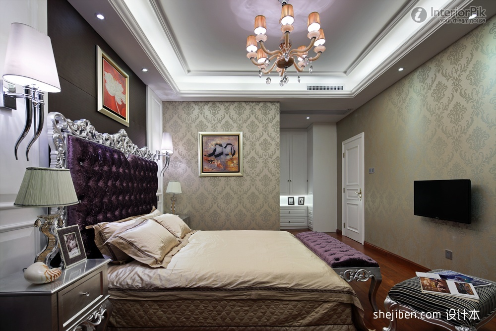 Wallpaper designs for master bedroom bedroom review design for Bedroom designs with wallpaper