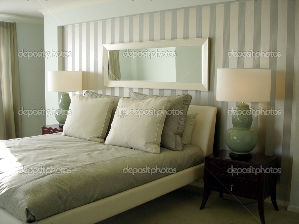 Modern bedroom wallpaper 5 home ideas - Papel pared dormitorio ...