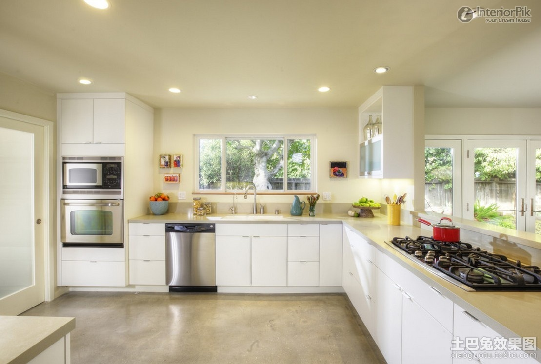 Modern Kitchen Wallpaper 30 Inspiration - EnhancedHomes.org