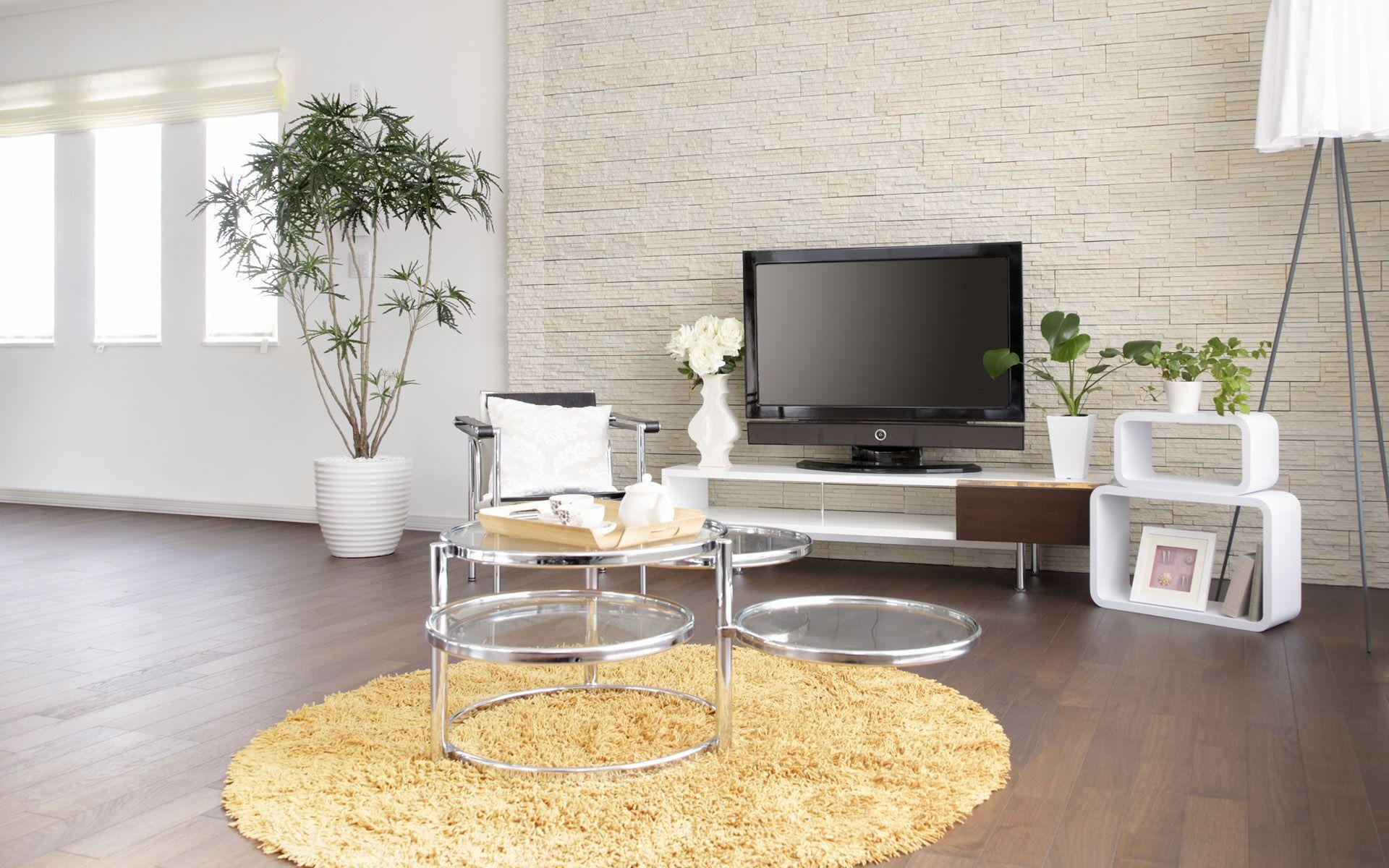 Modern wallpaper living room 24 inspiration for Brown wallpaper ideas for living room