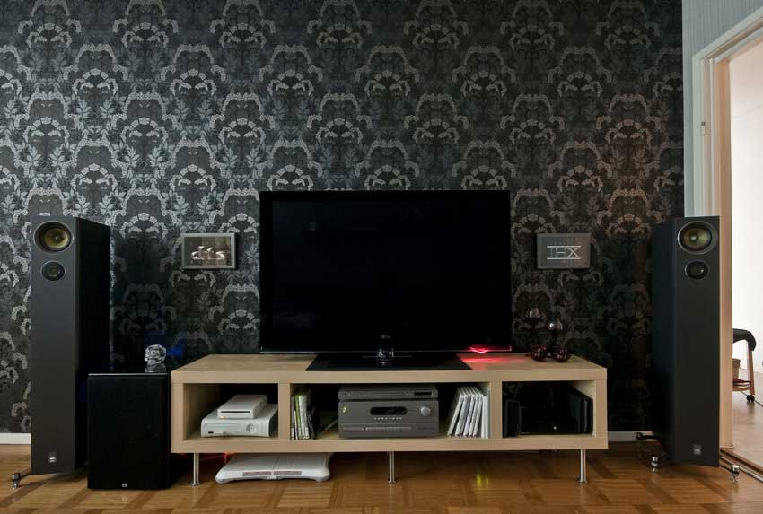 Wallpaper Designs For Living Room Remodeling Ideas