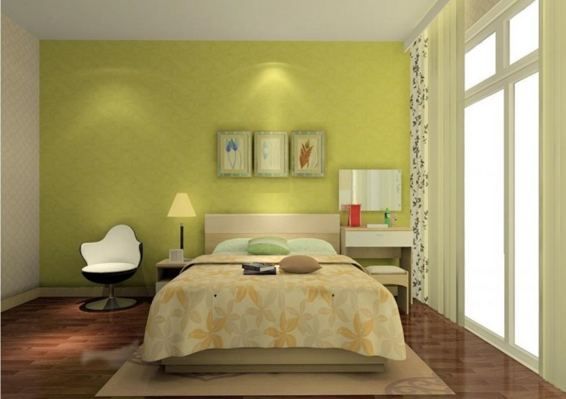 Bedroom Wallpaper Green 1 Decoration Inspiration
