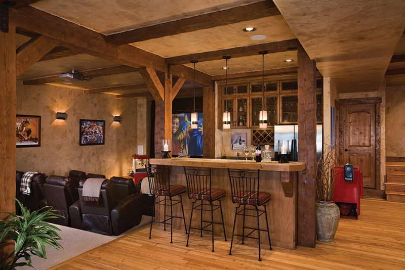 Delightful Cool Basement Bar Ideas 19 Arrangement