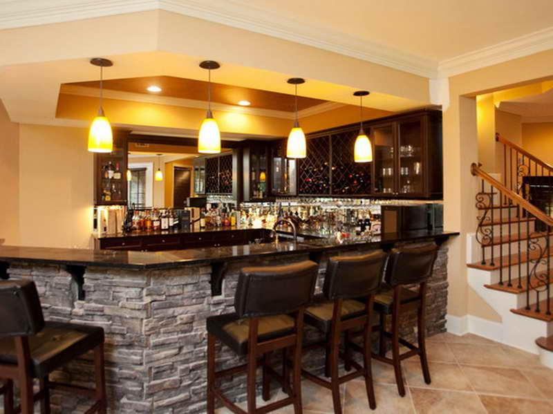 Cool basement bar ideas 20 designs - Cool home bar ideas ...
