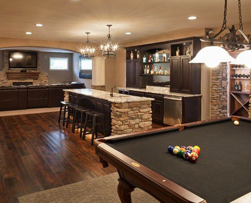 Cool Basement Bar Ideas 4 Arrangement