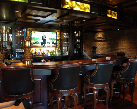 Cool basement bars 11 picture for Cool home bar design ideas