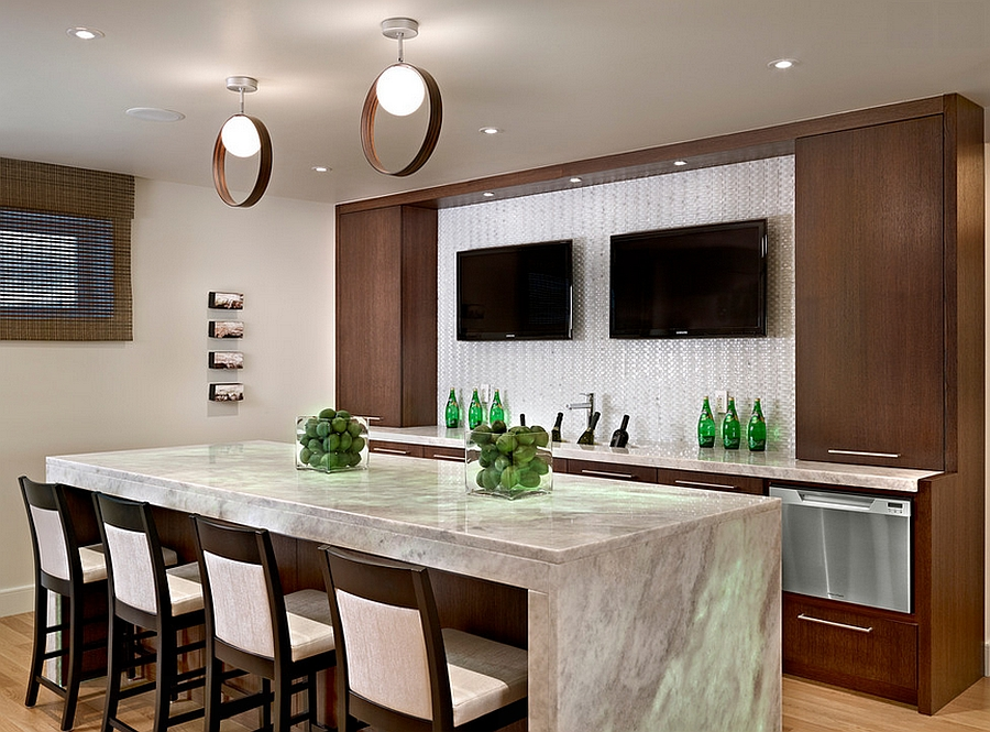 Beautiful Cool Basement Bars Inspiration With Cool Basement Bar Ideas