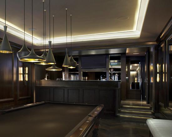 Lighting Basement Washroom Stairs: Cool Basement Bars 7 Decoration Inspiration