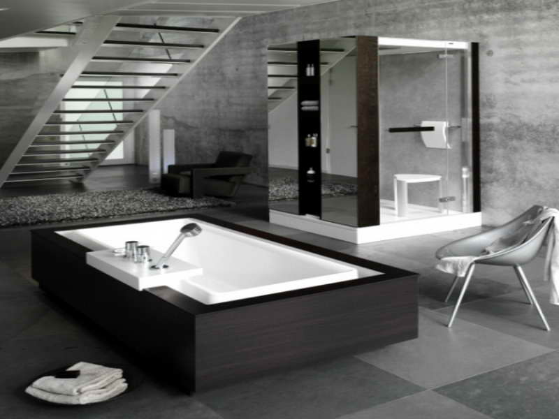 Cool bathrooms 34 designs for Cool bathroom ideas