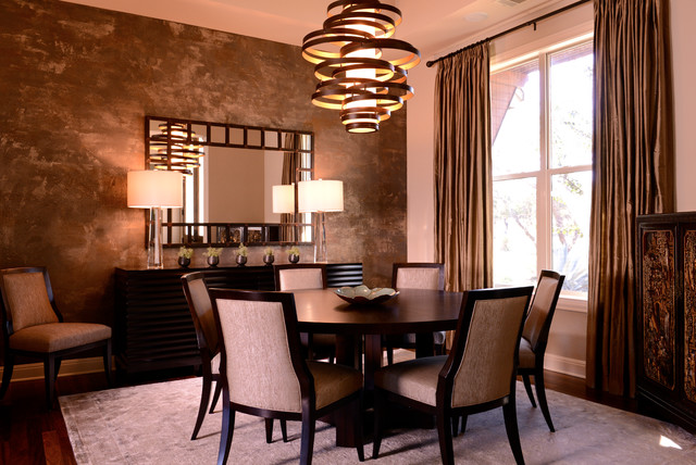 Houzz Modern Dining Room Lighting Design Ideas Remodel Pictures ...