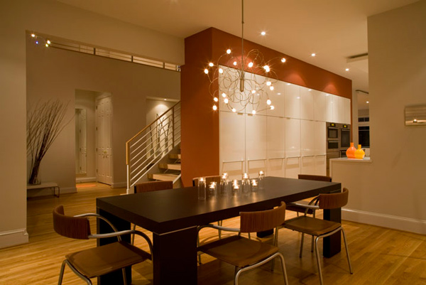 Cool dining room lighting 2 decoration idea for Cool dining room chandeliers