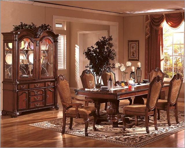 Elegant dining room chairs 7 decoration inspiration for Elegant dining room furniture