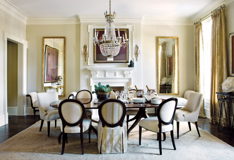 Elegant Dining Room Decor 8 Picture - EnhancedHomes.org