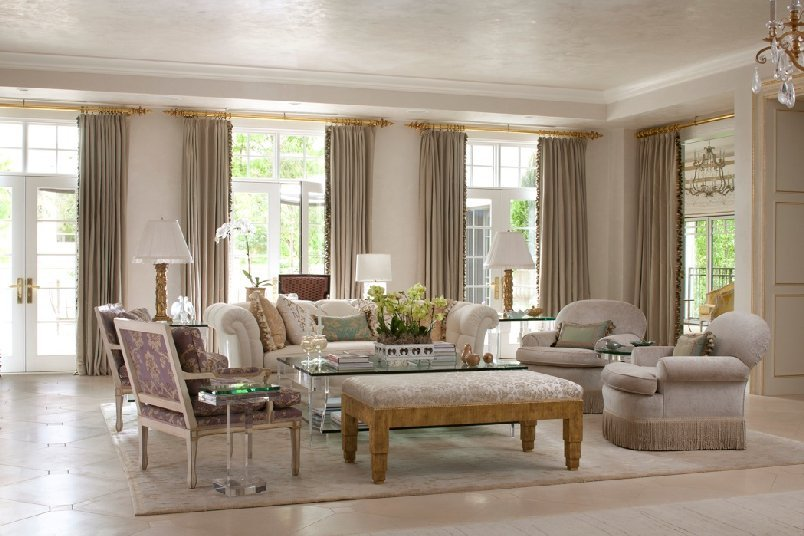 Elegant Living Rooms Renovating Ideas