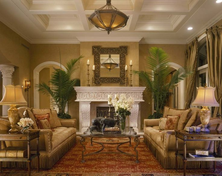Classic County Small Living Rooms Decorating
