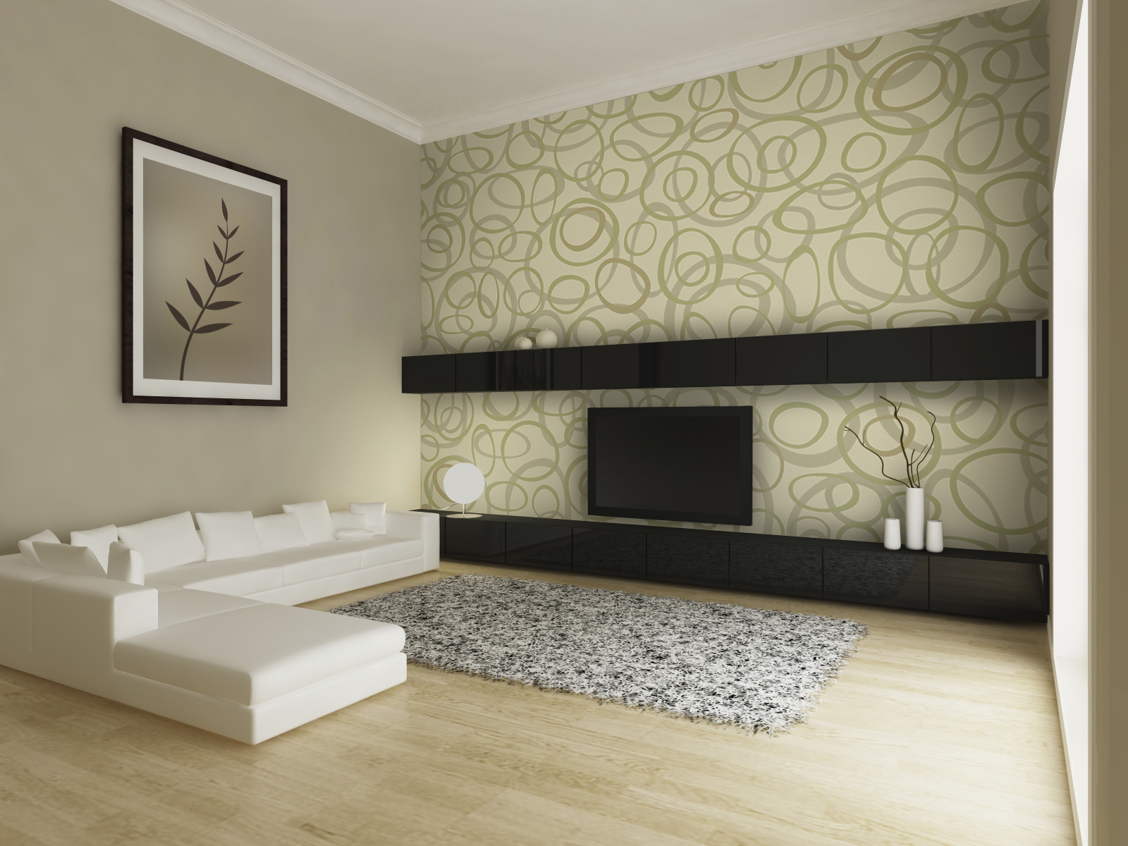 Home Interior Wallpaper Designs