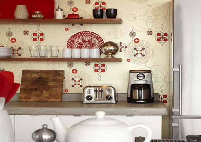 Kitchen Wallpaper Borders Ideas Renovating Ideas